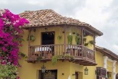 Um restaurante em Trinidad, Cuba imagens de stock royalty free