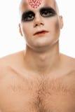 Um retrato assustador Fotos de Stock Royalty Free