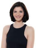Retrato caucasiano de sorriso bonito da mulher Fotografia de Stock Royalty Free