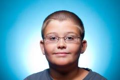 Um retrato da criança Foto de Stock