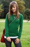 Um retrato da menina lindo Foto de Stock