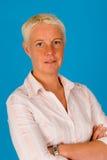 Um retrato da mulher Fotografia de Stock Royalty Free