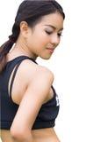 Um retrato da mulher asiática atrativa fotografia de stock royalty free