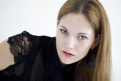 Um retrato da mulher de negócio bonita nova Fotos de Stock