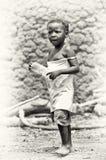 Um retrato de um homem idoso de Ghana Fotografia de Stock