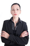 Um retrato de uma mulher de negócio Fotos de Stock Royalty Free