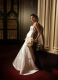 Um retrato de uma noiva da forma Imagem de Stock