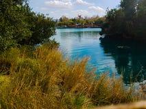 Um rio cênico foto de stock