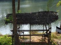 Um rio dos moluscos imagens de stock