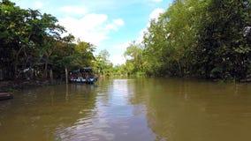 Um rio tropical local em Oceania foto de stock royalty free