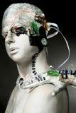 Um robô Imagens de Stock