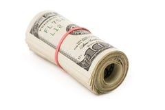 Um rolo dos dólares Imagens de Stock Royalty Free