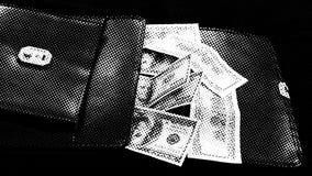 Um saco da ameixa verde ácida e do dinheiro de 20 cédulas da lira turca, vídeos de arquivo