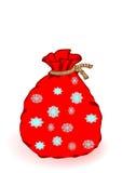 Um saco de ano novo do vetor ilustração ilustração stock