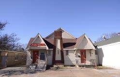 Um salão de beleza seguro da mulher, Memphis Arkansas ocidental fotografia de stock