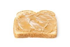 Um sanduíche da manteiga de amendoim Fotografia de Stock Royalty Free