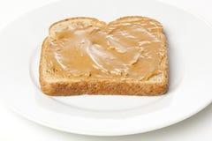 Um sanduíche da manteiga de amendoim Fotos de Stock Royalty Free
