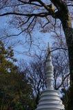Um santuário xintoísmo em Kyoto, Japão foto de stock