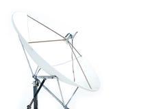 Um satélite isolado foto de stock