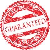 Um selo garantido vetor Imagem de Stock Royalty Free