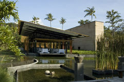 Um Serie Bali-Indonesien Lizenzfreies Stockfoto