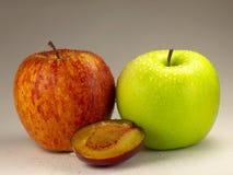 Um serviço fresco da fruta Imagens de Stock Royalty Free