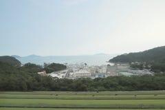 um Sha Tsui Detention Centre em Hong Kong fotografia de stock