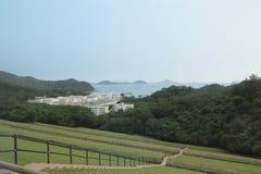 um Sha Tsui Detention Centre em Hong Kong foto de stock