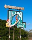 Costa norte de Haliewa Fotos de Stock Royalty Free