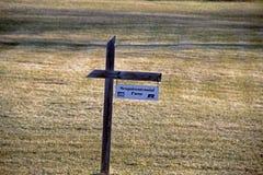 Um sinal da exploração agrícola de Susquecentenial Fotos de Stock