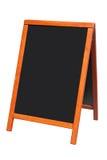 Um sinal de madeira do quadro-negro. Imagem de Stock Royalty Free