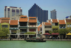 Um Singapur-Fluss-Serie stockfotografie