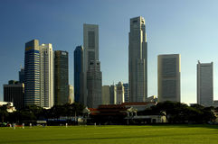 Um Singapur-Serie lizenzfreies stockfoto