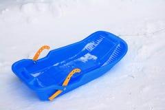 Um sledge. Foto de Stock Royalty Free