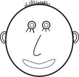 Um smiley Ilustração do Vetor