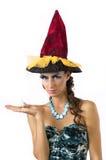 Um sorceress novo Imagens de Stock
