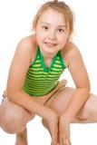 Um sorriso bonito da menina Fotografia de Stock