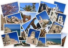 Um Spanien Stockfotos
