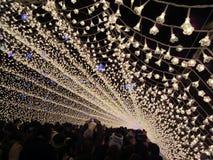 Um túnel incrível do diodo emissor de luz Foto de Stock