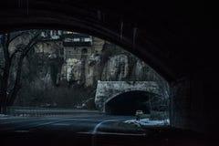 Um túnel na extremidade de um túnel Fotografia de Stock