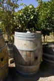 Um tambor de vinho Fotografia de Stock Royalty Free