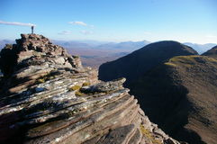 Um Teallach, Scotland Foto de Stock Royalty Free