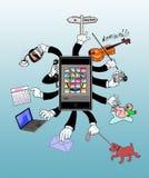 : Um telefone esperto, esperto Imagens de Stock