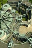 Um telhado futurista Fotografia de Stock Royalty Free