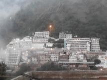 Um templo bonito de Devi do vaishno do maa Imagem de Stock
