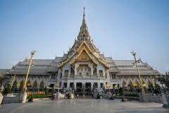 Um templo bonito em Tailândia fotografia de stock