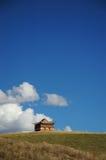 Um templo do lamaism de tibet Fotografia de Stock