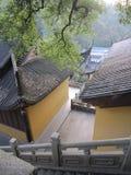 Um templo em hangzhou Imagens de Stock