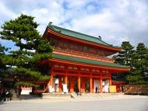 Um templo em Kyoto Fotografia de Stock