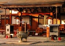 Um templo em Kyoto - Japão fotos de stock royalty free